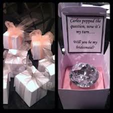 asking to be bridesmaid ideas 1000 ideas about asking ring bearer pionik