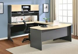 furniture white wooden computer desk office style ideas furniture