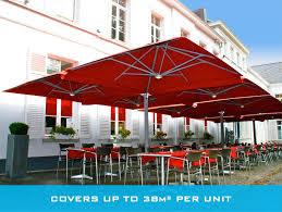 Frontgate Patio Umbrellas Furniture Sun Garden Cantilever Umbrella With Sofa Set For