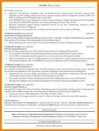 sample human resources generalist resume resume samples and