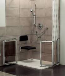 Disabled Half Height Shower Doors Adapted Living