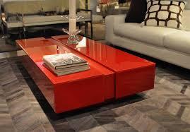 North Shore Furniture Minimalist Modern Style Glass Coffee Table