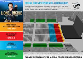 Rod Laver Floor Plan Lionel Richie With Chic Featuring Nile Rodgers Tickets Official