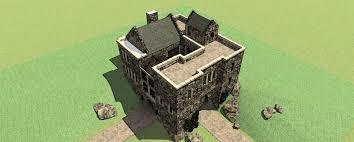 Castle House Plans Chinook Castle Plan U2013 Tyree House Plans