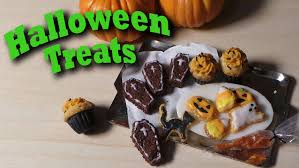 Mini Halloween Cakes by Cute Miniature Halloween Treats Polymer Clay Tutorial Cookies