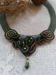248 best soutache and beadwork jewellery images on pinterest