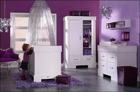 chambre bébé violet décoration chambre bébé fille violet