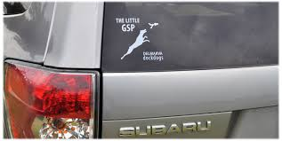 forester decal custom decal the little gsp