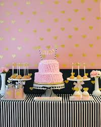 pink and gold baby shower sparkling pink baby shower