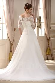 a line princess wedding dress a line princess the shoulder half sleeves lace wedding dress