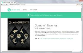 3 services to search the catalog of tv show and movie streaming