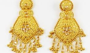 gold earrings for beautiful gold earring design jewellry s website