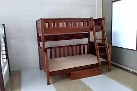 Wood Bunk Bed Designs by 2017 New Solid Wooden Bunk Bed Design Simple Double Decker Bed For