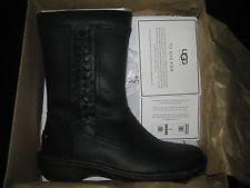 ugg s kaleen boot ugg australia leather zip mid calf s boots ebay