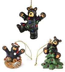 teddy bear u0026 bear tree ornaments for christmas it u0027s christmas time