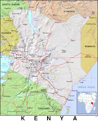 Map Of Kenya Africa by Ke Kenya Public Domain Maps By Pat The Free Open Source