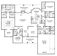 ranch with walkout basement floor plans marvelous bedroom ranch house plans with walkout basement floor