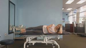 exercise of the week side lying it band stretch physical