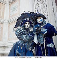 venetian costume venice march 5 person venetian costume stock photo 125159954