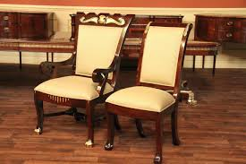 round mahogany dining table and chairs mahogany dining table and