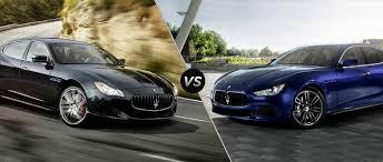 luxury maserati maserati quattroporte s q4 vs maserati ghibli