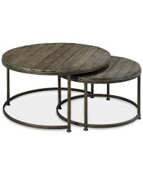 coffee tables appealing round nesting tables bronze side table