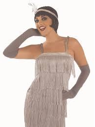20s roaring silver flapper costume fs3909 fancy dress ball