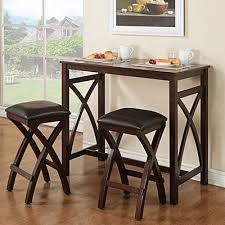 Kitchen Bar Table Sets by 3 Piece Breakfast Pub Set At Big Lots 159 42wx22dx36h Can