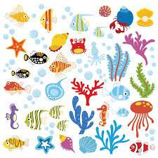 amazon com the deep blue sea decorative peel stick wall art ocean wonders decorative peel stick wall art sticker decals