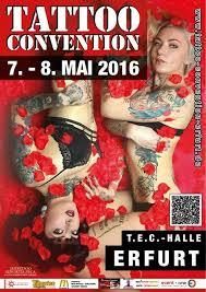 tattoo expo erfurt tattoo convention erfurt 7 au 8 mai 2016 convention tattoo 2016