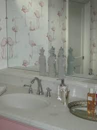 Flamingo Bathroom Fabulous Flamingo Wallpaper