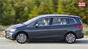 bmw minivan 2015 der bmw 2er gran tourer kommt youtube