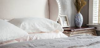 pure linen sheets soft washed french linen bedding saphyr