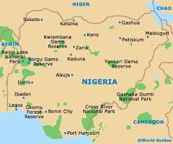 map of nigeria africa nigeria maps and orientation nigeria africa