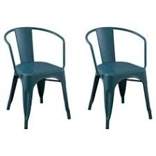 Tabouret Bistro Steel Dining Chairs Set Of 2 By I Love Living