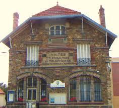 bureau poste la poste ancien bureau de style francilien du blanc mesnil photo