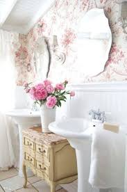 Shabby Chic Kitchen Wallpaper by 28 Lovely And Inspiring Shabby Chic Bathroom Décor Ideas Digsdigs