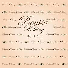 wedding backdrop font 26 best wedding backdrops images on wedding backdrops