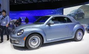 volkswagen bug light blue volkswagen beetle puts on denim suit for special edition model