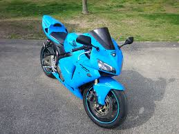 honda 600rr 2005 2005 2006 honda cbr600rr blue fairing kit ifairings