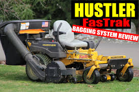 hustler fastrak bagger overview how to remove install youtube