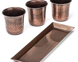 copper pots planters and container accessories