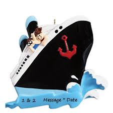 Cruise Ornament Buy Cruise Ship Personalized Ornament From A Large