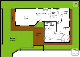 plan de maison plein pied gratuit 3 chambres plan de maison plain pied gratuit 3 chambres 13 villa t4t5 130m2