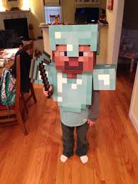Minecraft Costume Diyminecraftcostume 9 Steps With Pictures