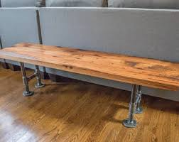 Industrial Style Bench Industrial Bench Etsy