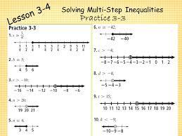 19 solving multi step inequalities