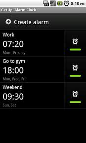 android alarm clock getup alarm clock android apps on play