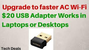 Usb Wifi Adapter For Faster Wifi Usb Wifi 20 Usb Wifi Adapter Ac Wireless 802 11ac Review