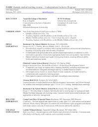 resume template sle 2017 ncaa undergraduate sle resume 16 college nardellidesign com